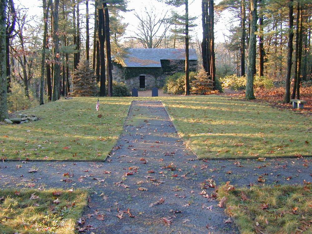Memorial Garden: Sudbury, MA: Completed 2000