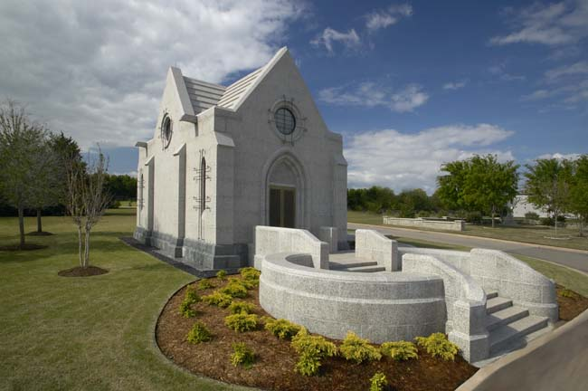 Private Mausoleum, Oklahoma City, OK: completed 2003