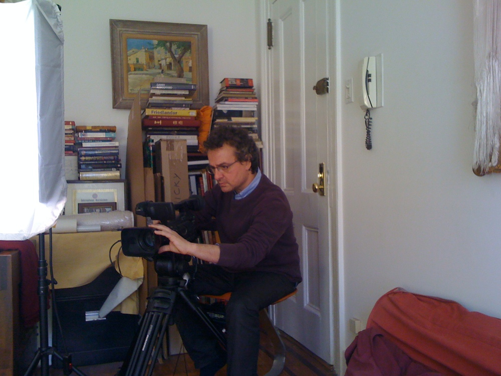 Filming Nicky in NY, Spring 2013