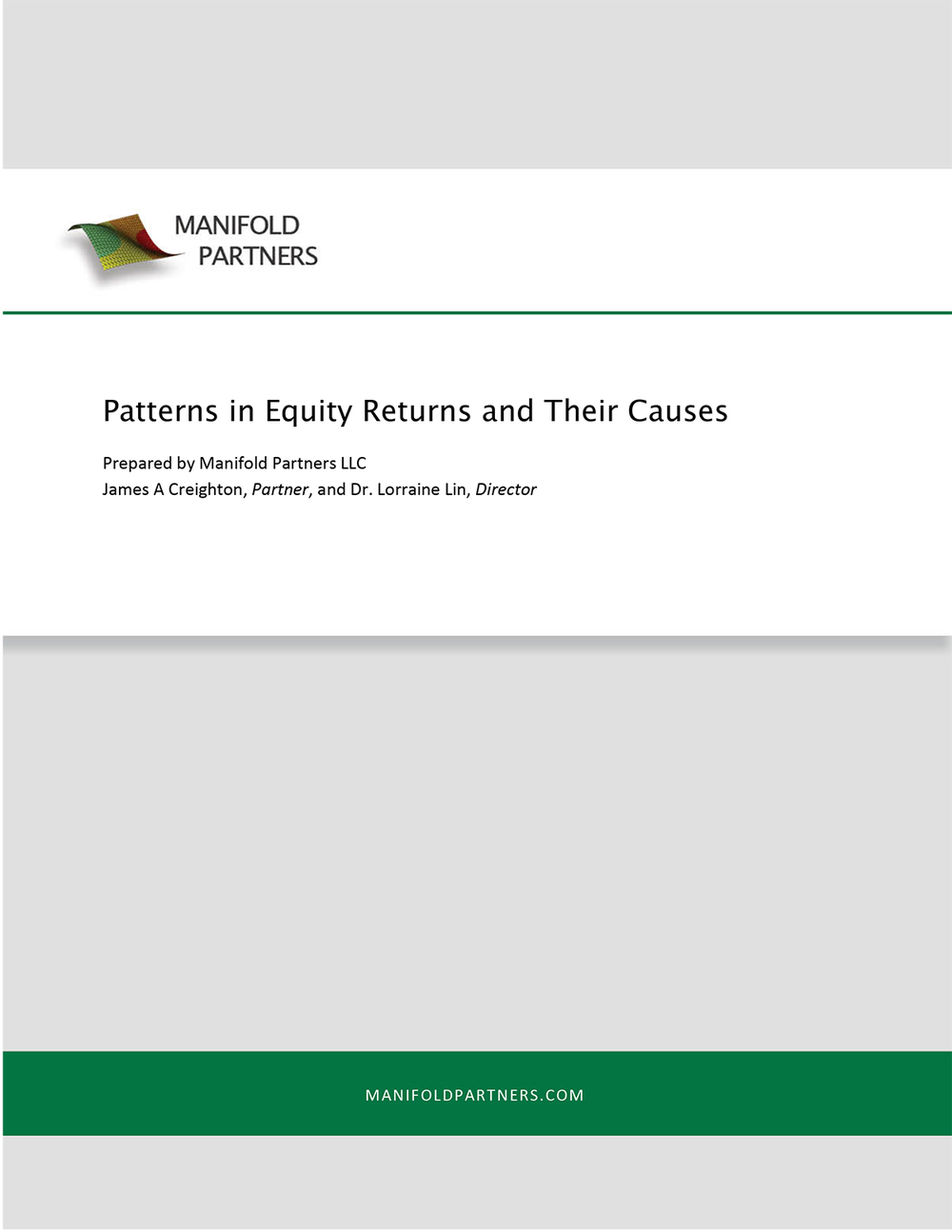 Patterns in Equity Returns and Their Causes