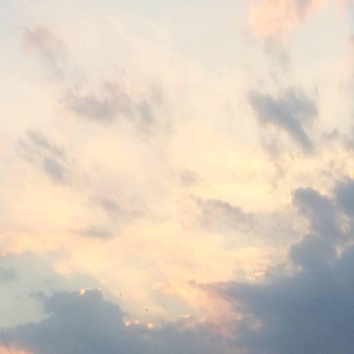 gold von morgen. ein stückchen himmel