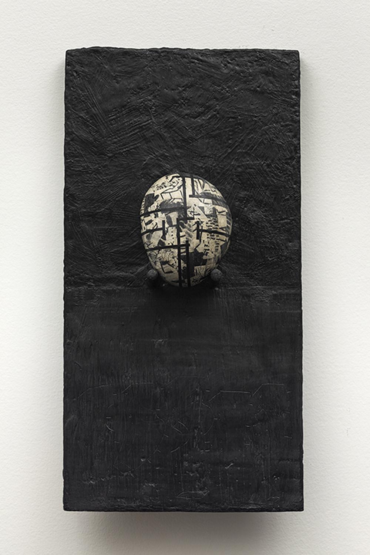 JeanMichelCropsal-2013-Collage-de-gravures-sur-galets-sur-bois-et encaustique-46x23cm.jpg