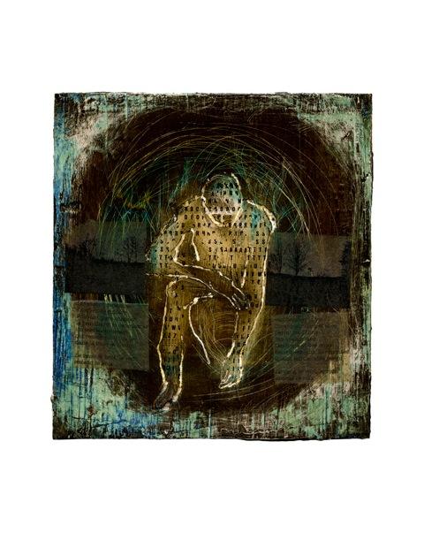 Carton, collage  territoire 1  2011