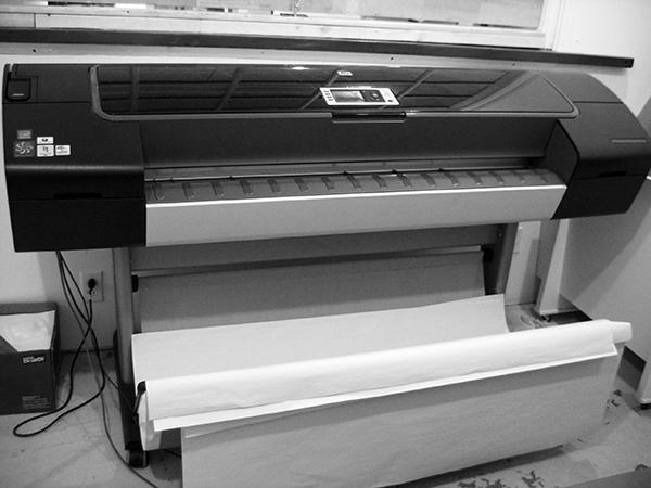 Imprimante numérique grand format