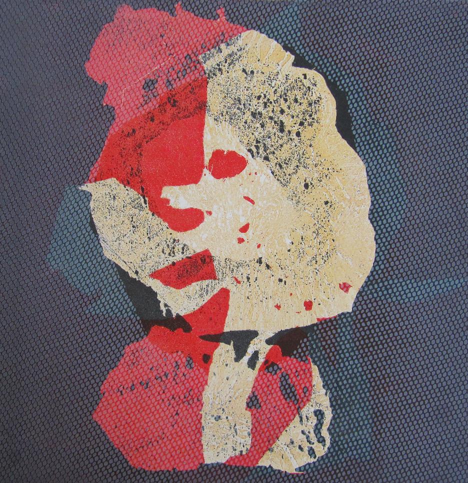 Talleen Hacikyan. Clémentine, Monotype, 48 x 46 cm, 2015