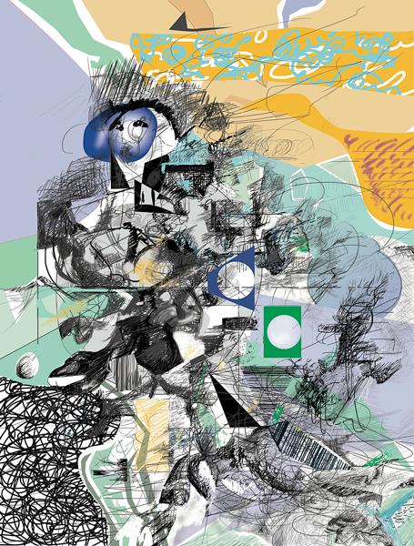 Le Prince - Serie_22X29_02, Maurice Murphy, 22x29 pouces, impression numérique pigmentée