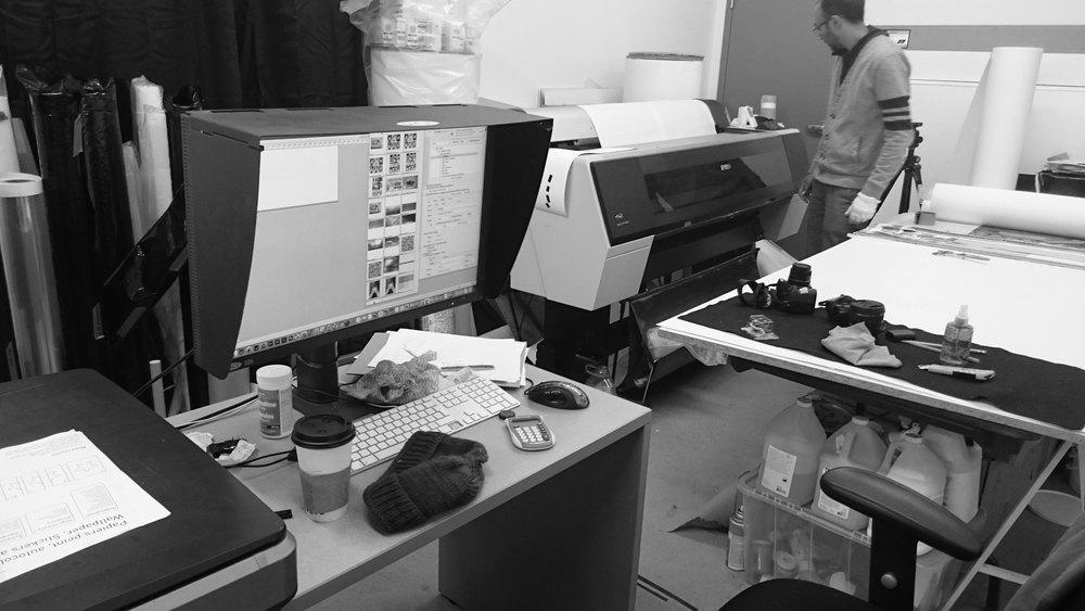 Atelier d'impression numérique