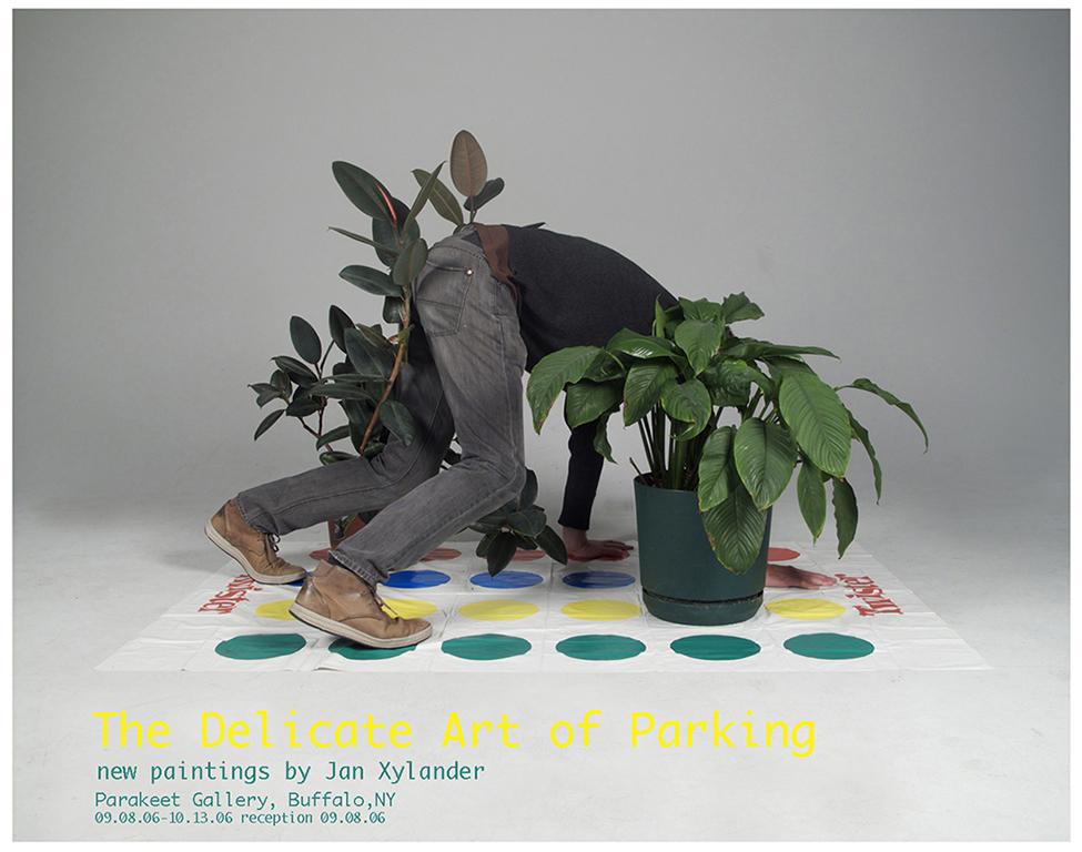 """Natasha Petisch,""""Xylander Poster #12"""", impression à jet d'encre et sérigraphie,23 x 36 pouces, 2011."""
