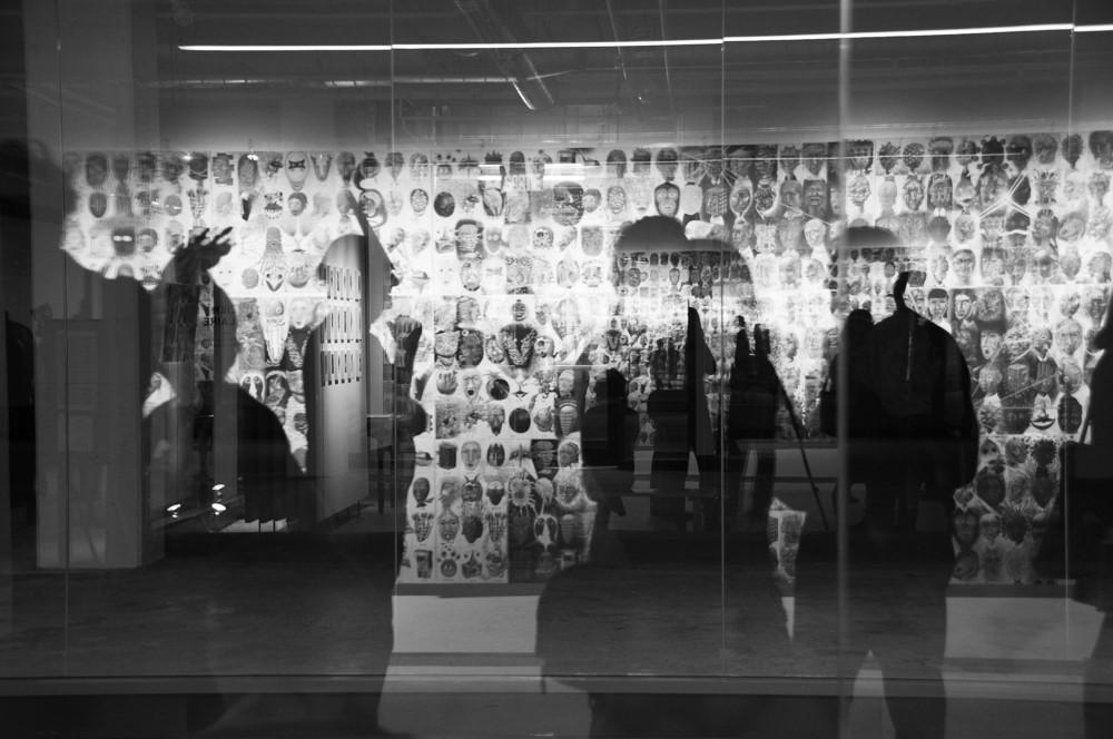 "Exposition ""100 visages et amis"" de Tomiyuki Sakuta (2017)"