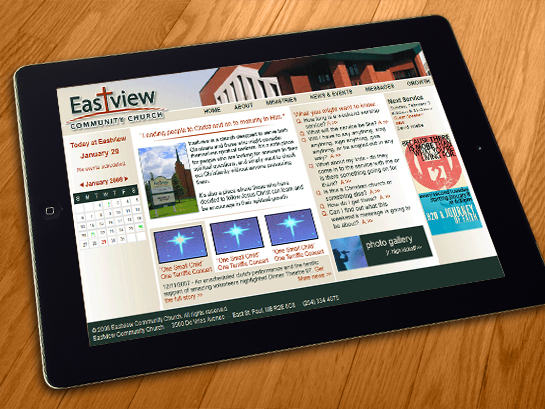 Website: Eastview Community Church