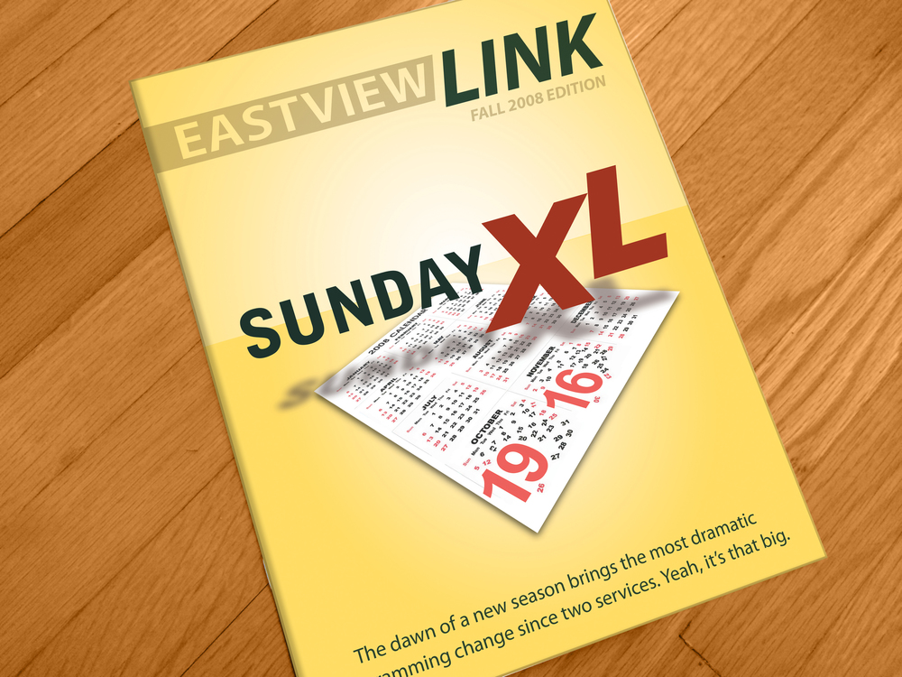 Magazine Cover: Eastview Community Church