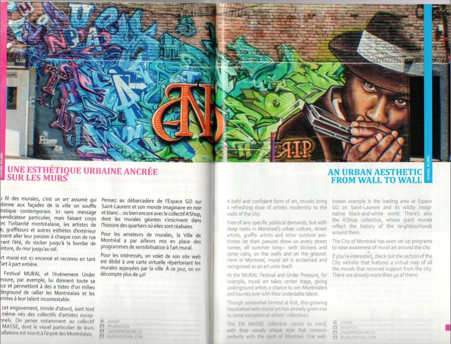 Magazine Montréal Géotourisme