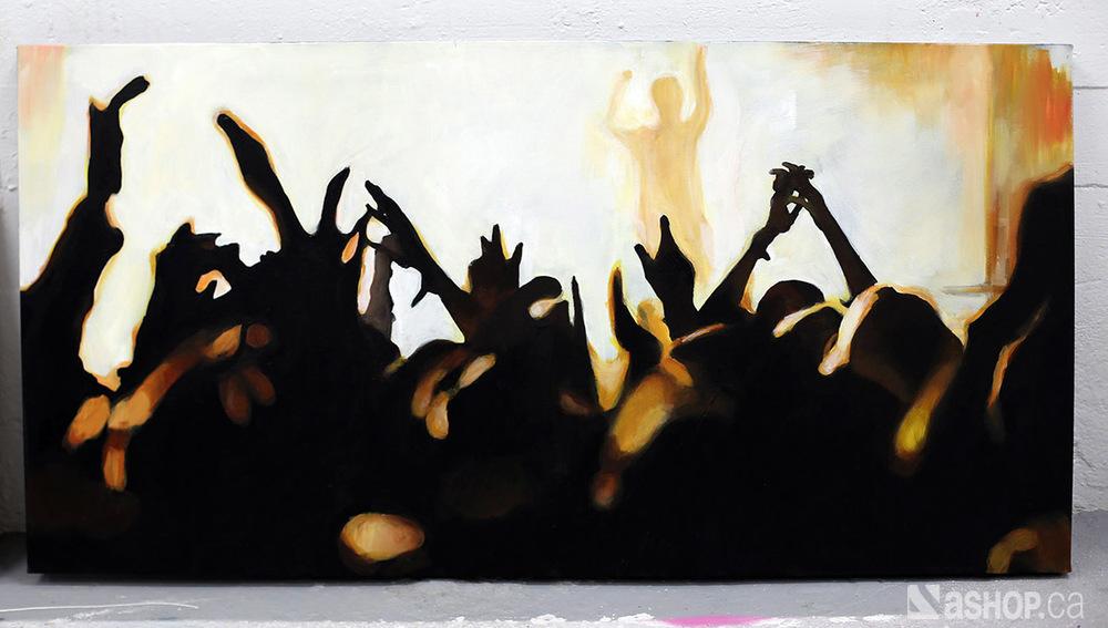 Ashop-A'shop-Graffiti-street-art-Lacey-Leila-canvas-acrylique-contorsioniste-Hotel-des-spectacles-black-concert-foule.JPG