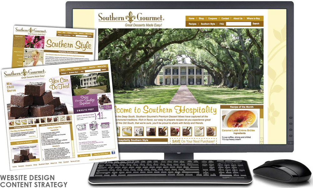 Southern Gourmet Desserts site
