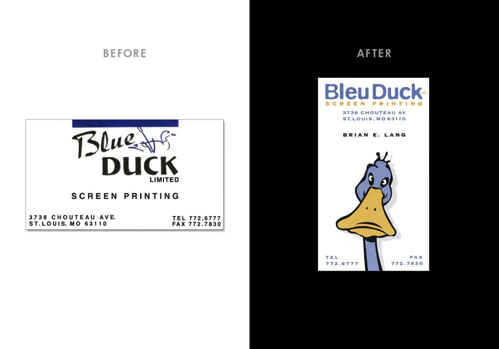 Bleu Duck