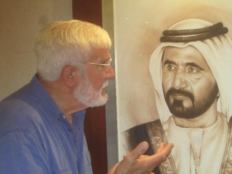 David Bartels in Dubai