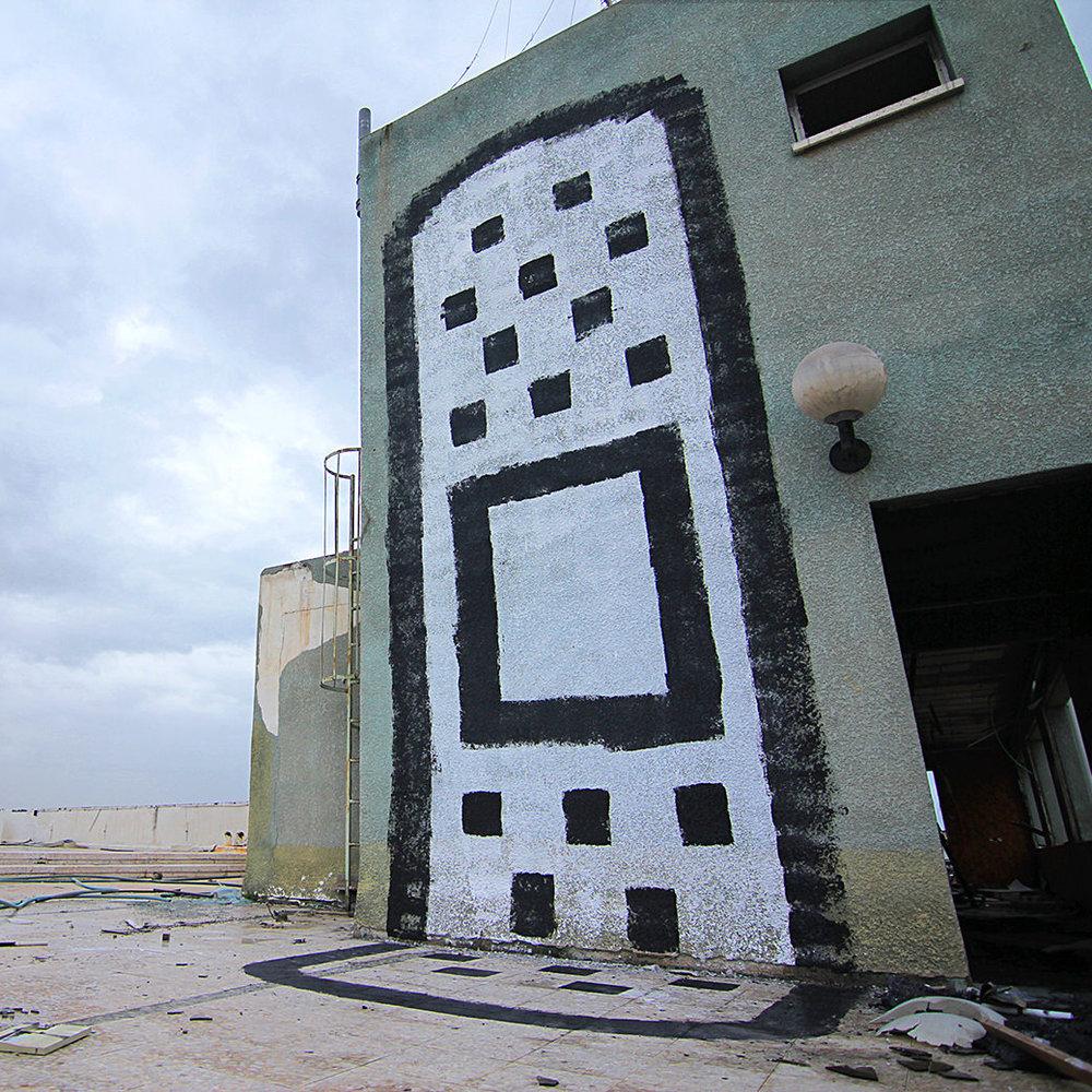 RoofTop Bandaid, Tel-Aviv, 2012