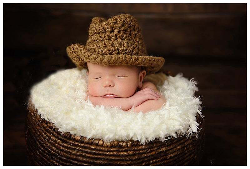The Sweetest little cowboy ..