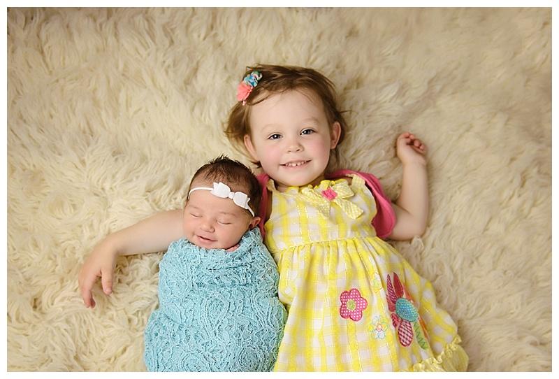 Newborn Baby Photographer Albany sibling photo