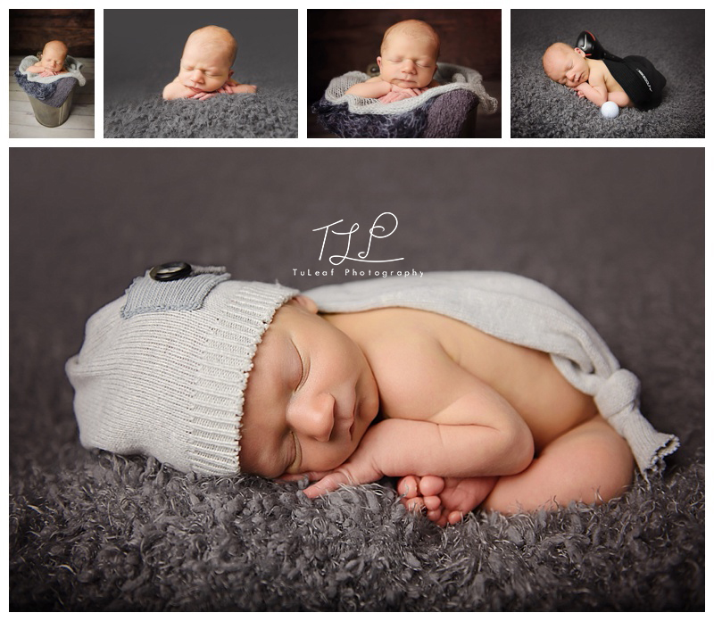 sleepy newborn photos