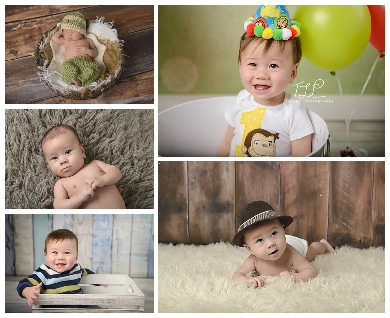 Newborn, 3 month, 6 month, 9 month, 1 year