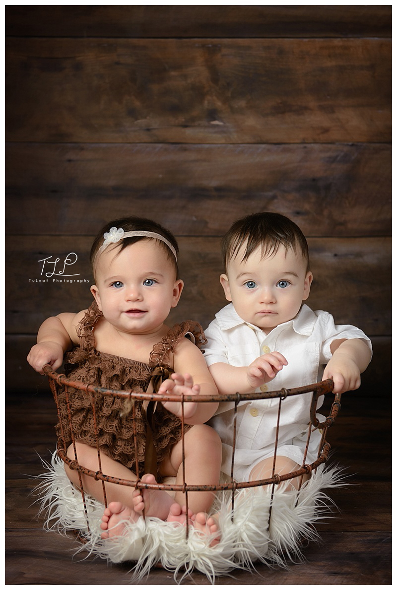 baby photographer new york twins in basket