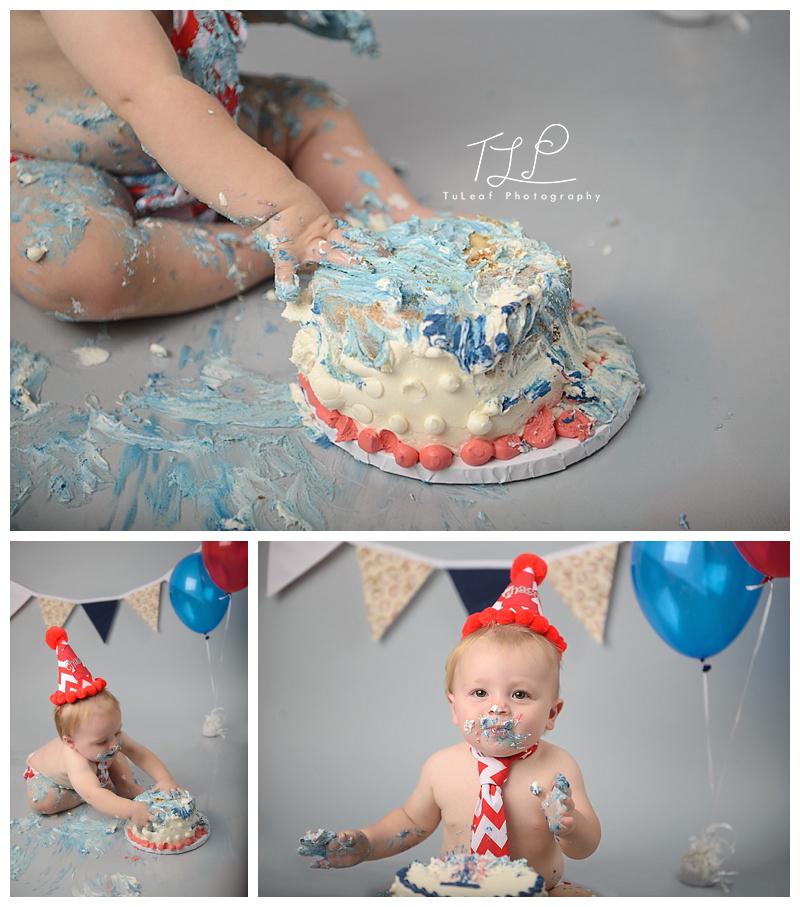 cake smash photos albany birthday boy baseball