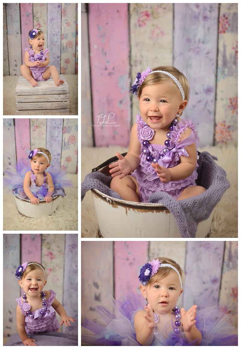 happy girl in purple albany photographer