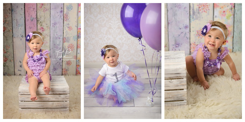 baby photographer albany pretty in purple