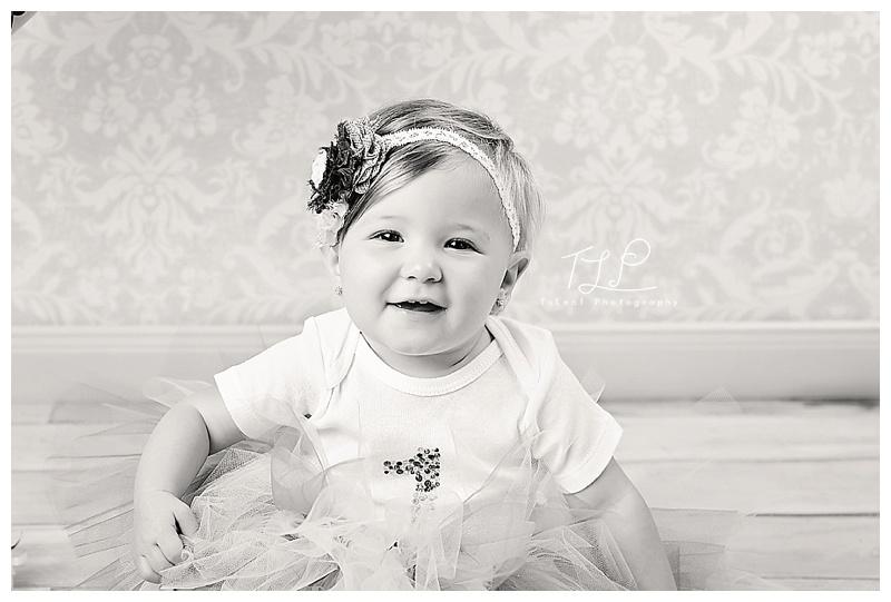 albany baby photo birthday girl