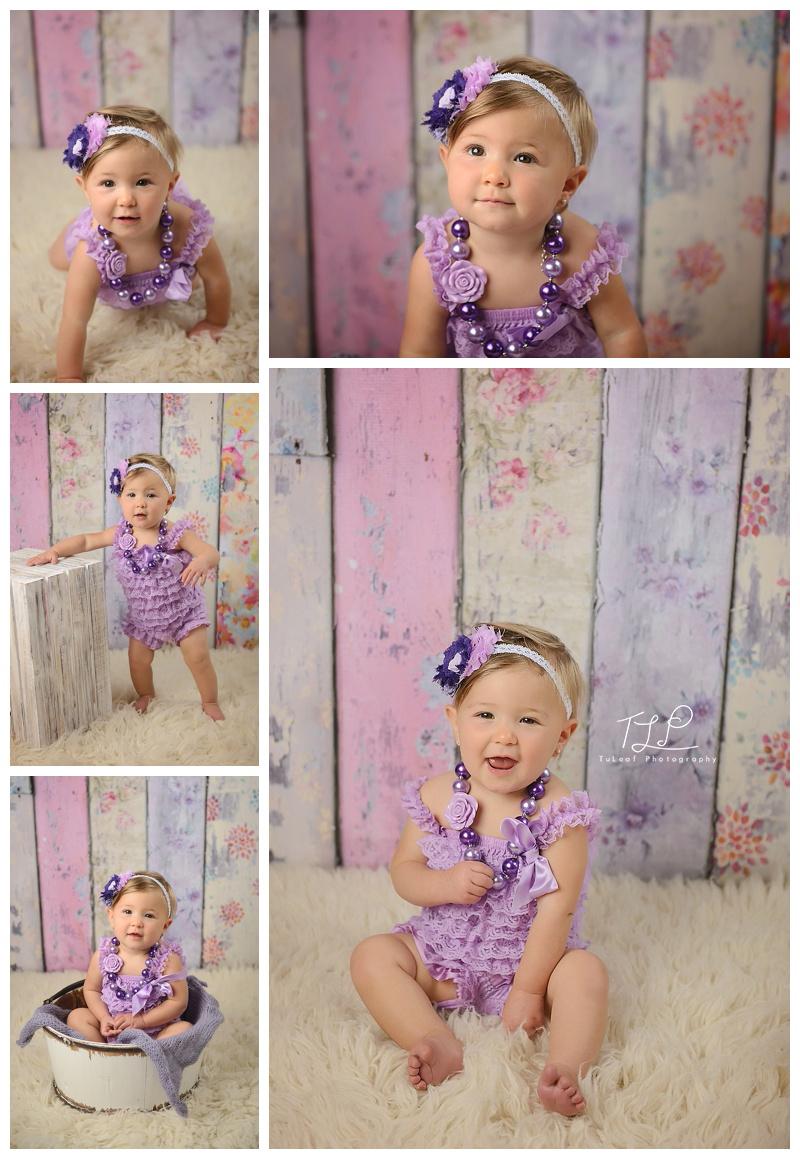 baby photos purple romper albany