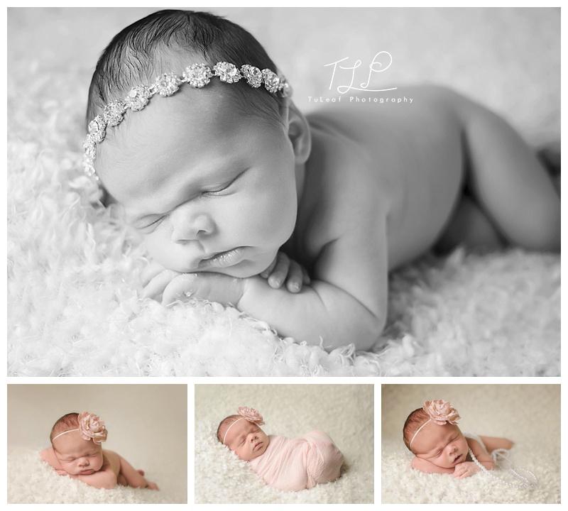 albany newborn photos baby girl sleeping