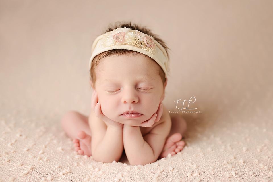 newborn photographer albany frog pose