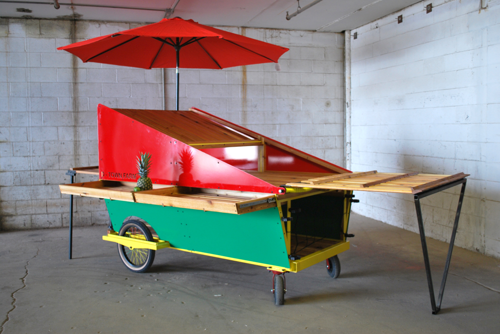 - Mobile Produce Cart