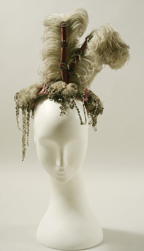 forgottenantiquities: Evening hat, 1895. (via The Met)