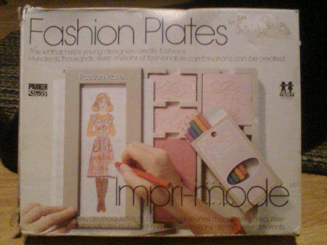 imremembering: Fashion Plates