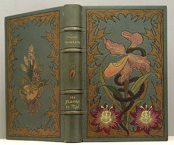 nocternity: First edition of Les Fleurs du mal by Charles Baudelaire.