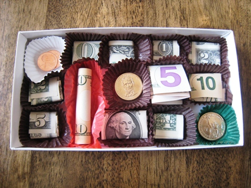 Money Box as a Valentine's Gift