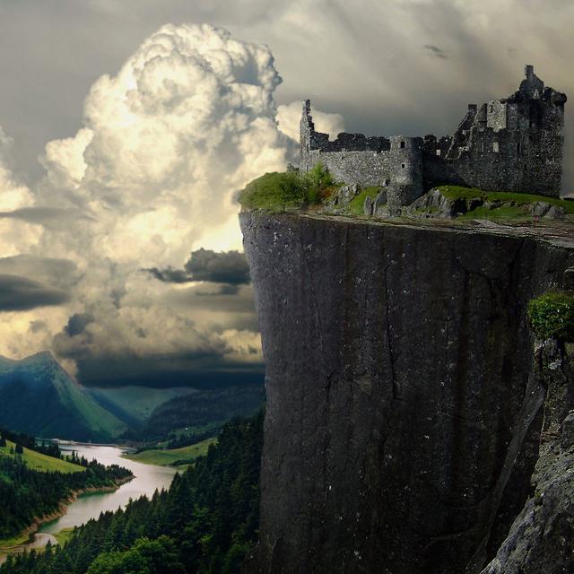 homedesigning: Kilchurn Castle @ Scotland