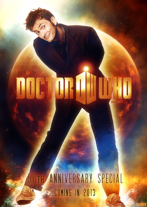 harbek: The Tenth Doctor returns.