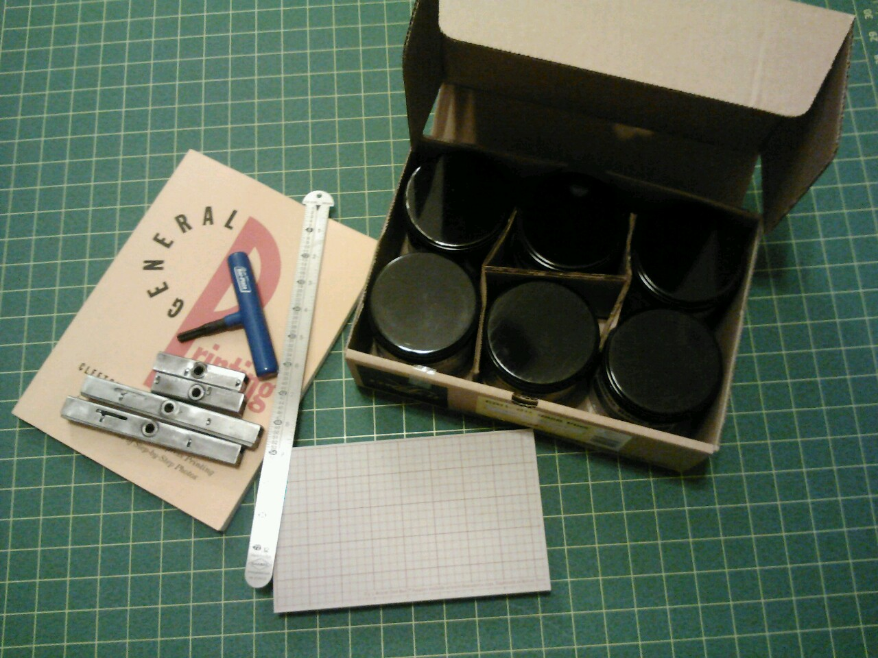 Letterpress supplies… early Valentines Day to myself!