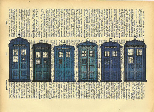 Dr. Who on a bookpage… excellent!