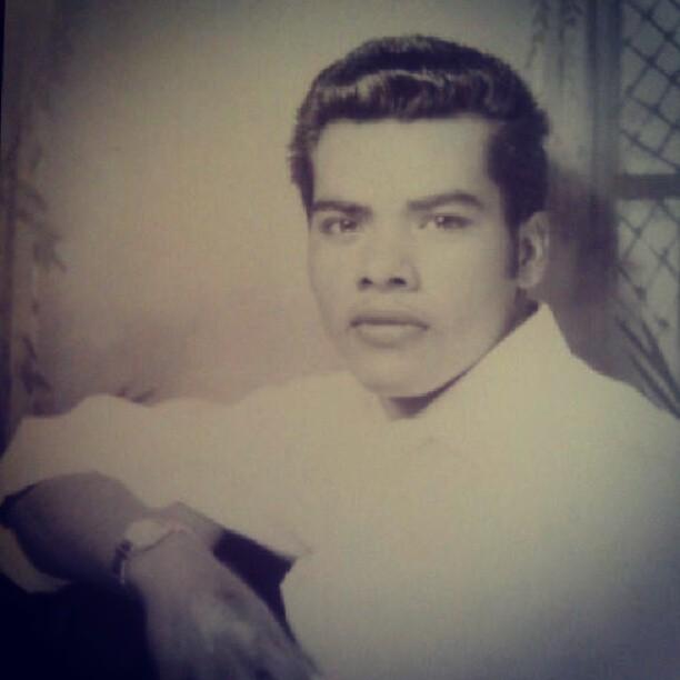 My grandpa at 18.