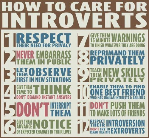 I would say I'm not an introvert, so this is really helpful (and snazzy!).
