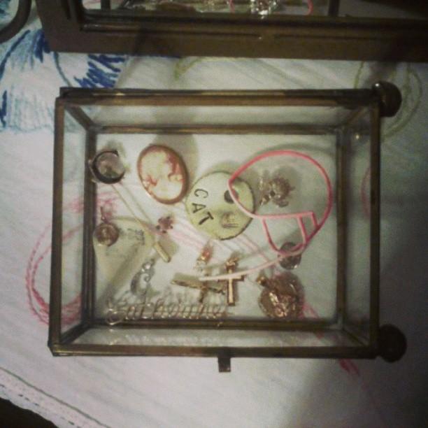 Glass box #keepsakes