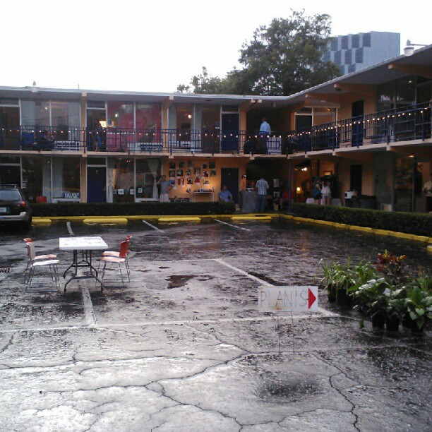 Faith Arts Village Orlando. Art studios in on old motel. (Taken with Instagram)
