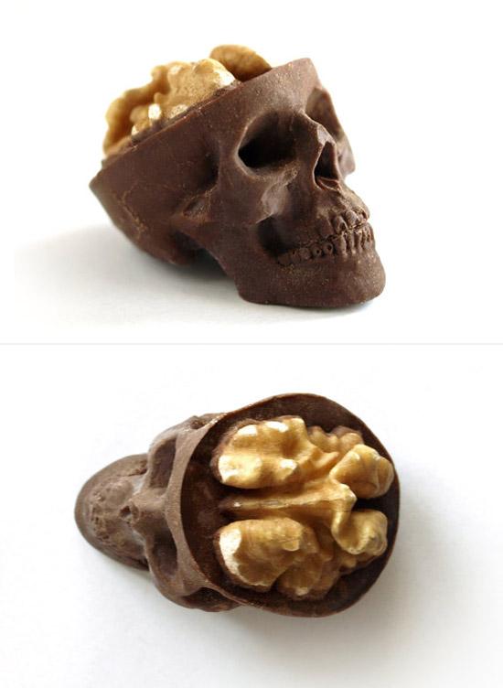 urhajos: Chocolate Skulls by Sparganum