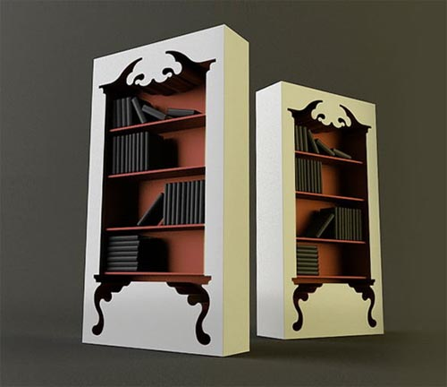 iheartclassics: These bookcases would be perfect for Halloween! death-licious: I want this !!!!!