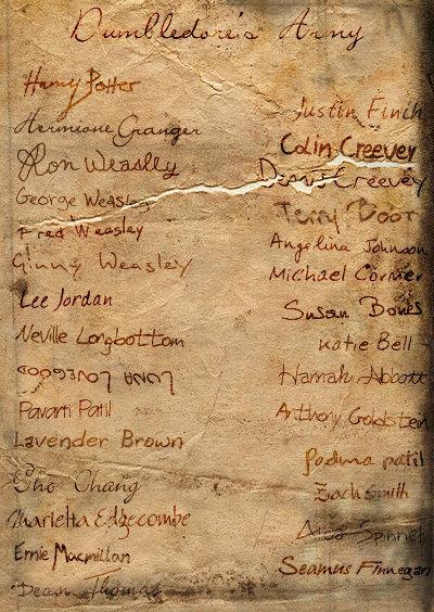 craftandmagic: Wish that I had Hermione's handwriting, or even Marietta. Haha, Luna is just.. Luna.