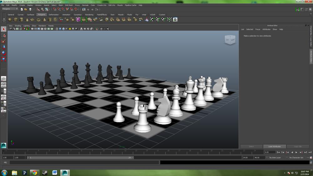 Full Chess Set